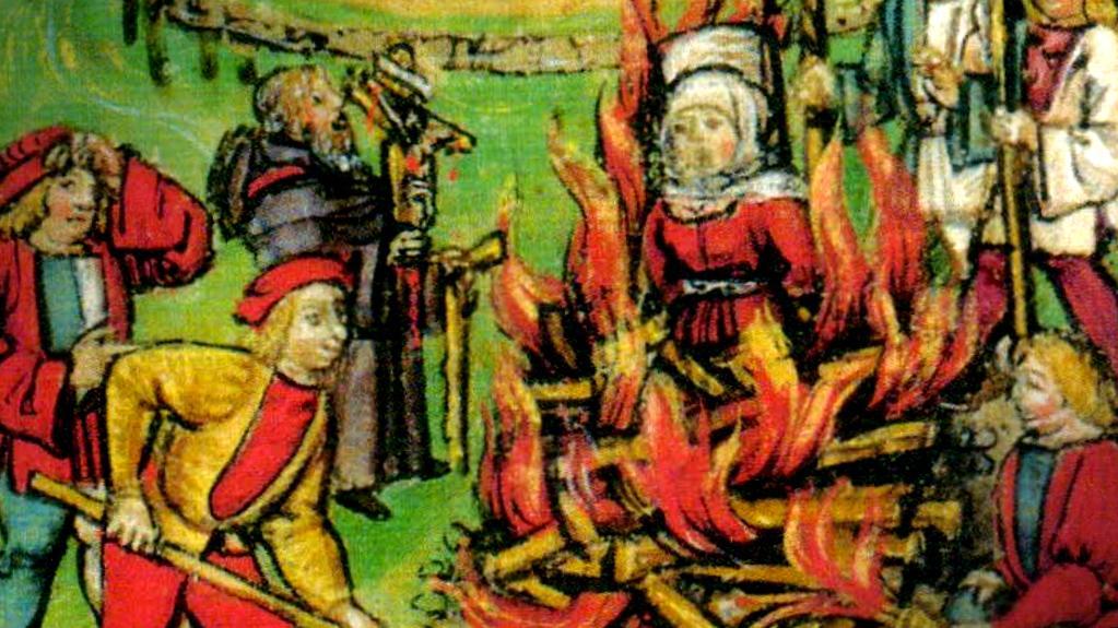Hekseafbrænding