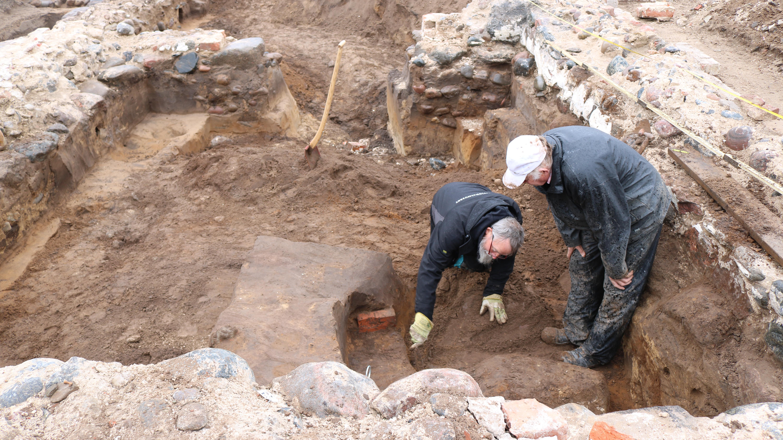 Udgravning Mårup Kirke