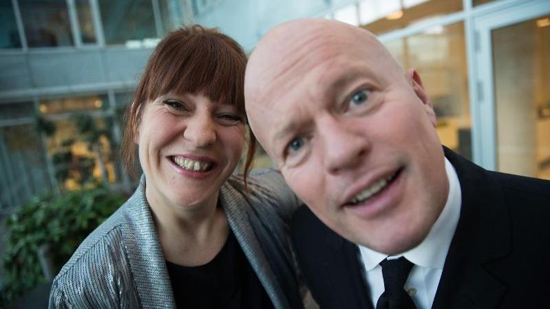 Julie Bundgaard og Dennis Johannesson