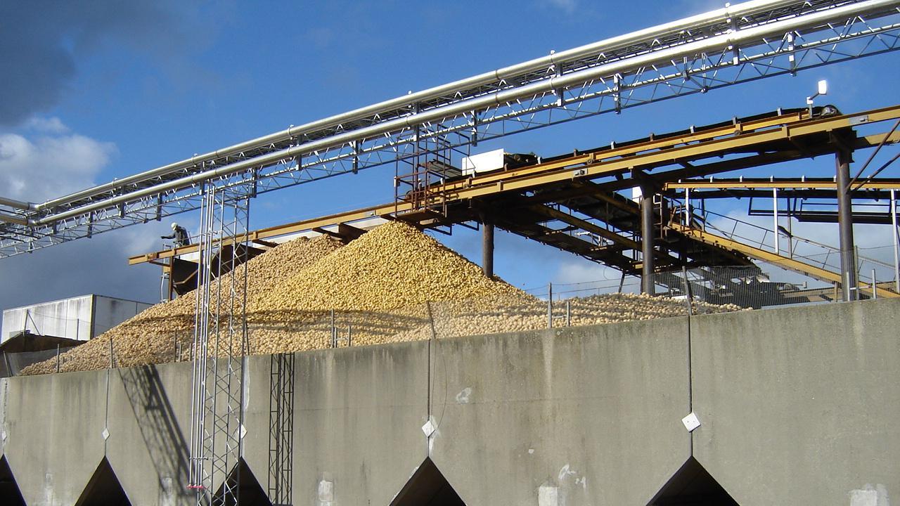 Kartoffelmelsfabrik