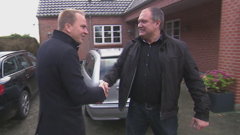 På jagt efter dansk ægtepar - kontant