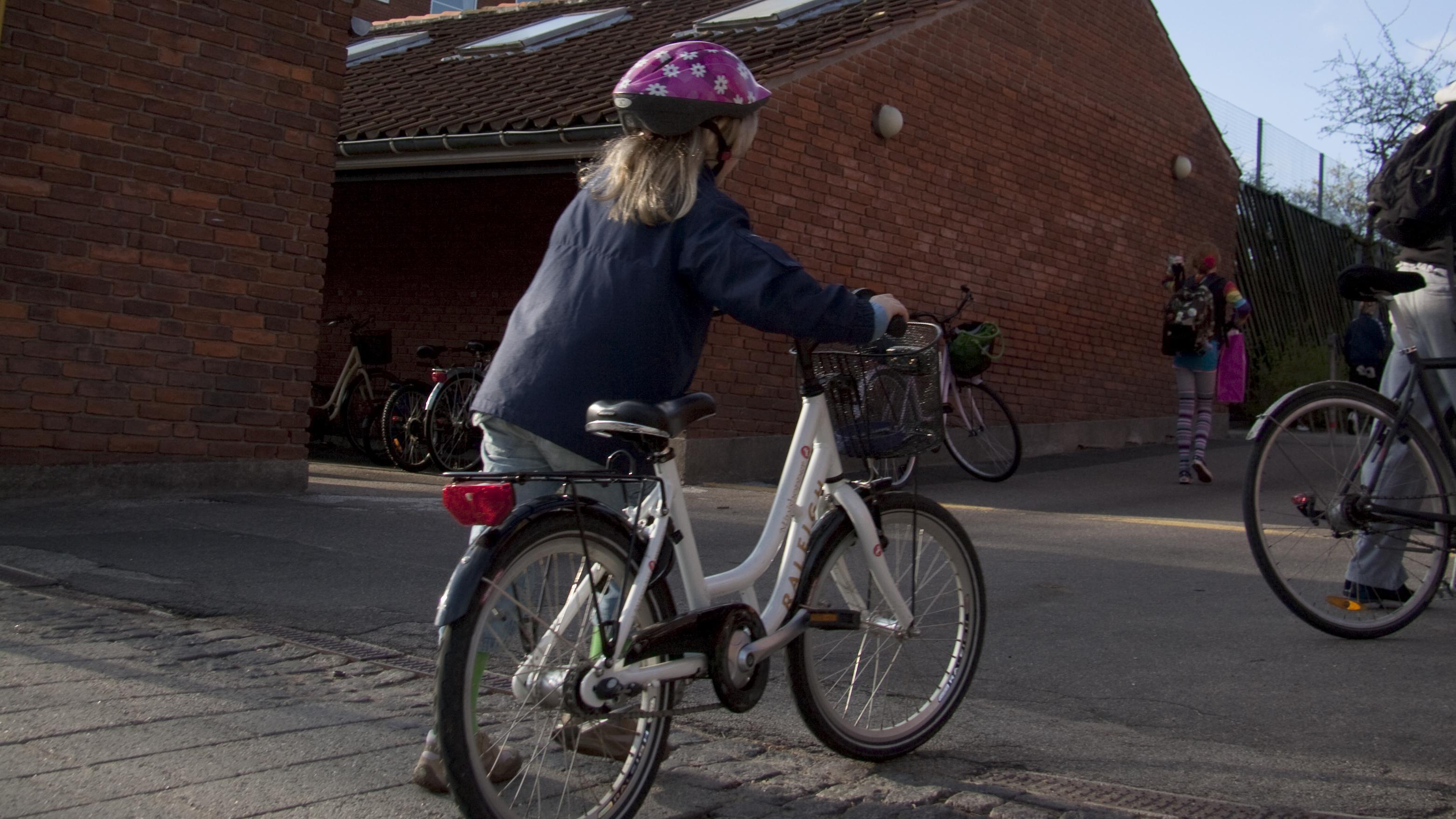 cyklist børn