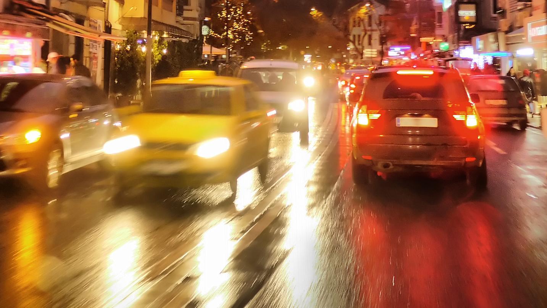 Biler fart trafik