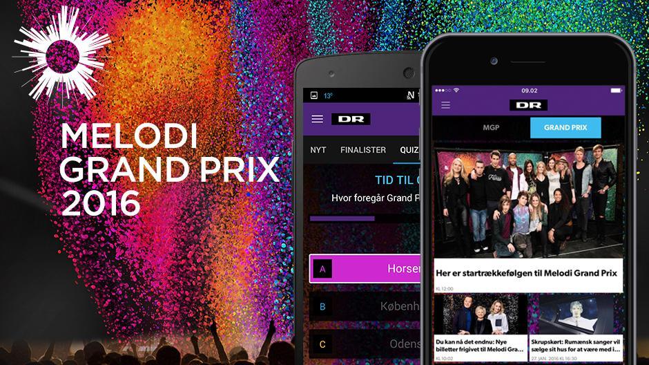 App Melodi Grand Prix 2016