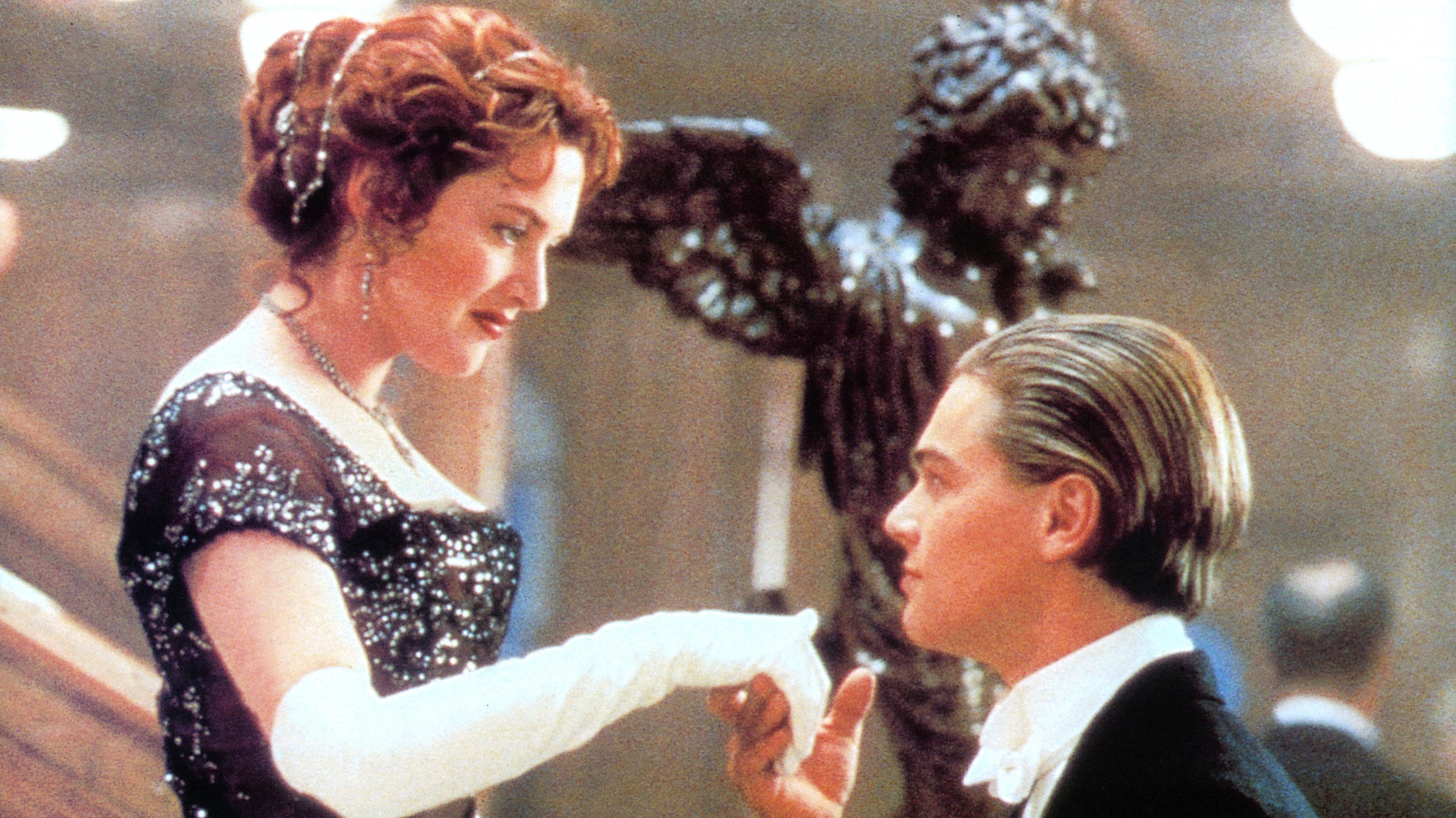 Titanic Kate Winslet og Leonardo DiCaprio