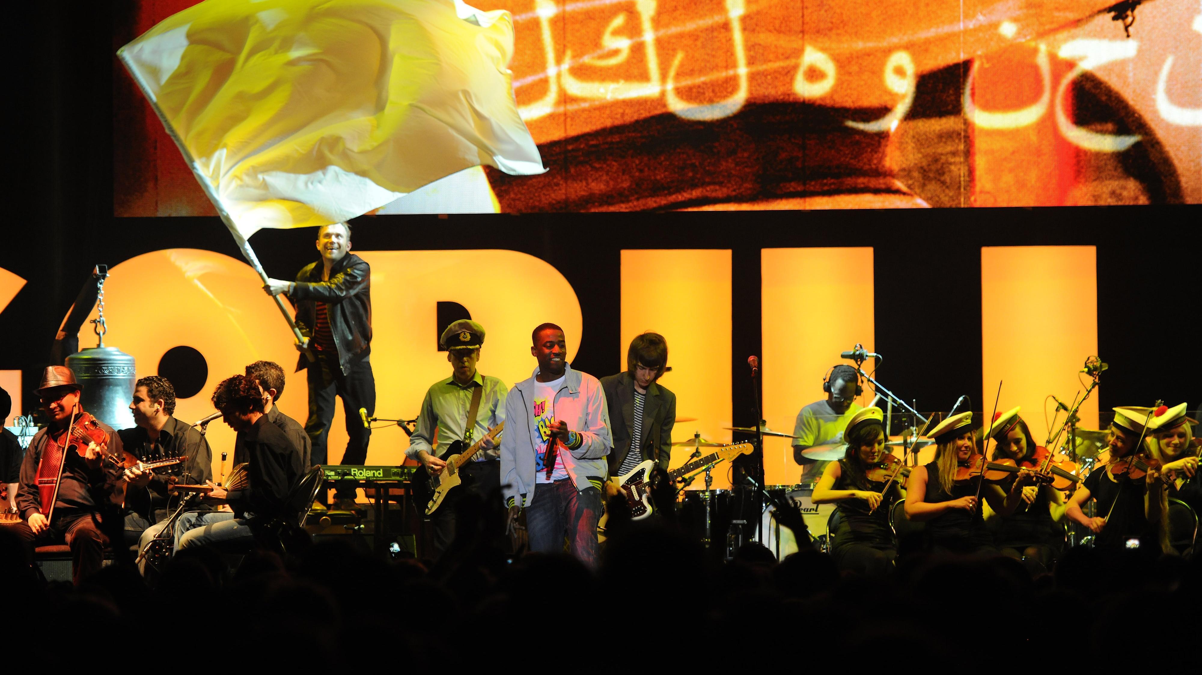 Damon Albarn og syrisk band