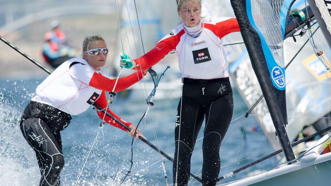 Jena Mai Hansen og Katja Salskov-Iversen EM 2015 Portugal