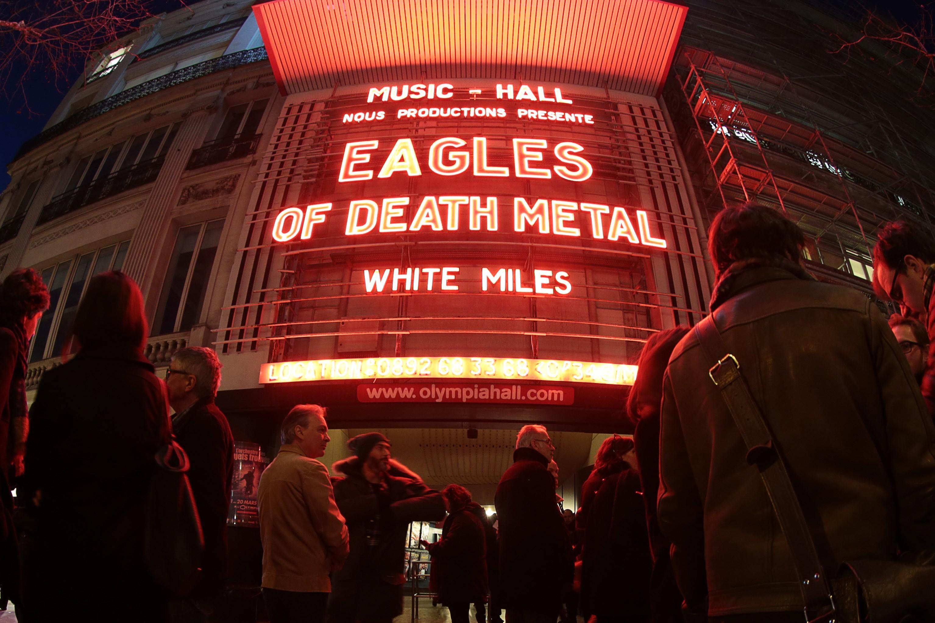eagles of death metal ny koncert