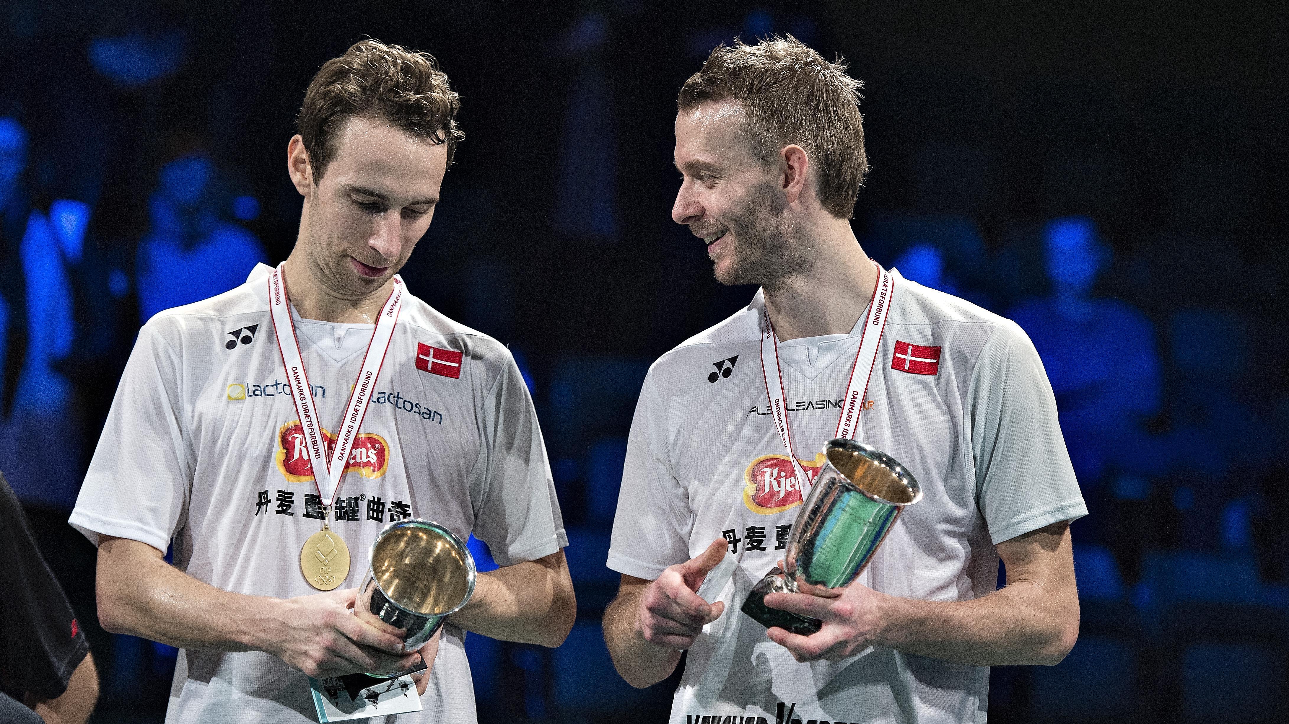 Carsten Mogensen tr¦ner igen efter hjerneoperation Badminton