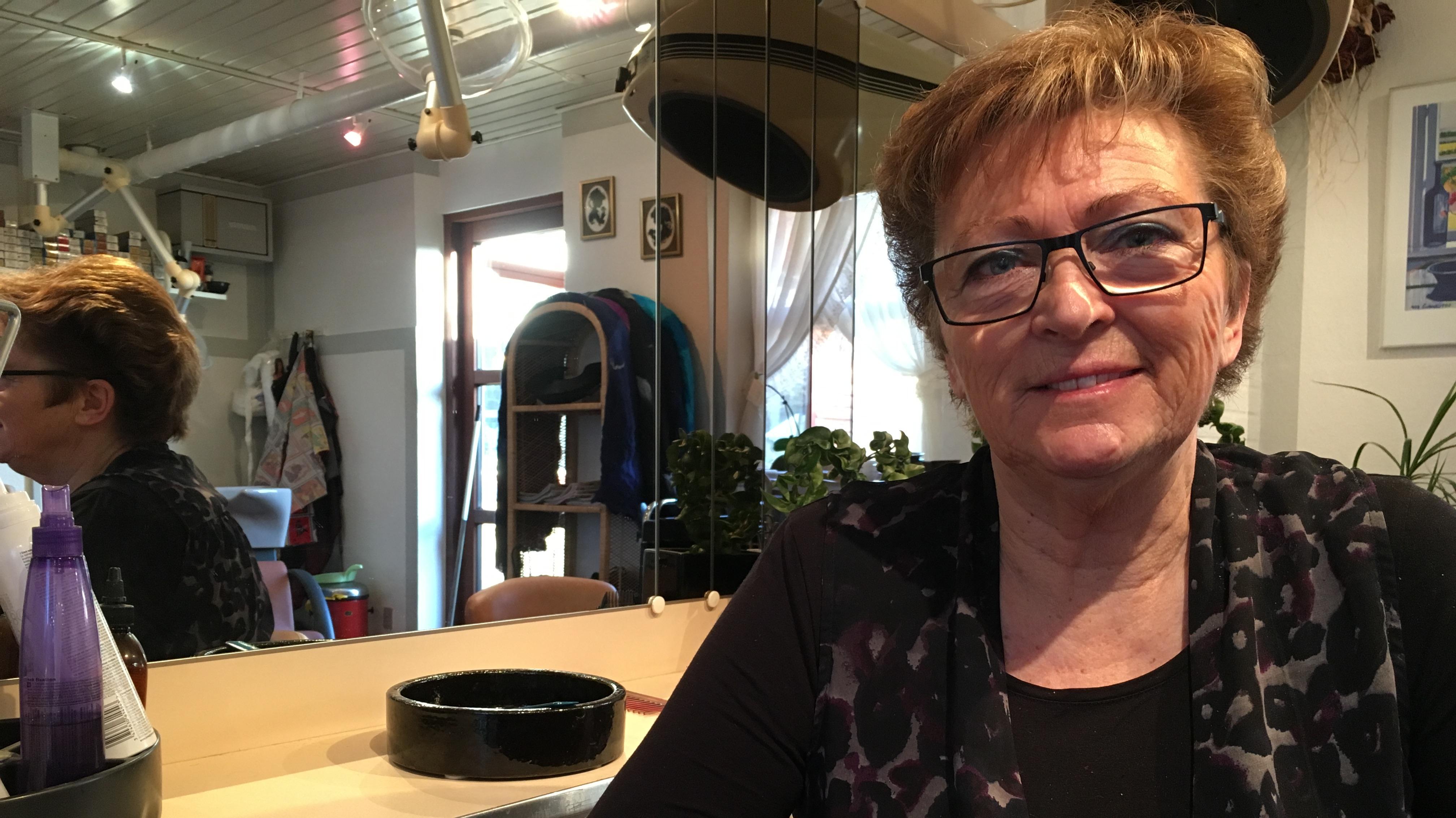 Anette Larsen, frisør Flauenskjold