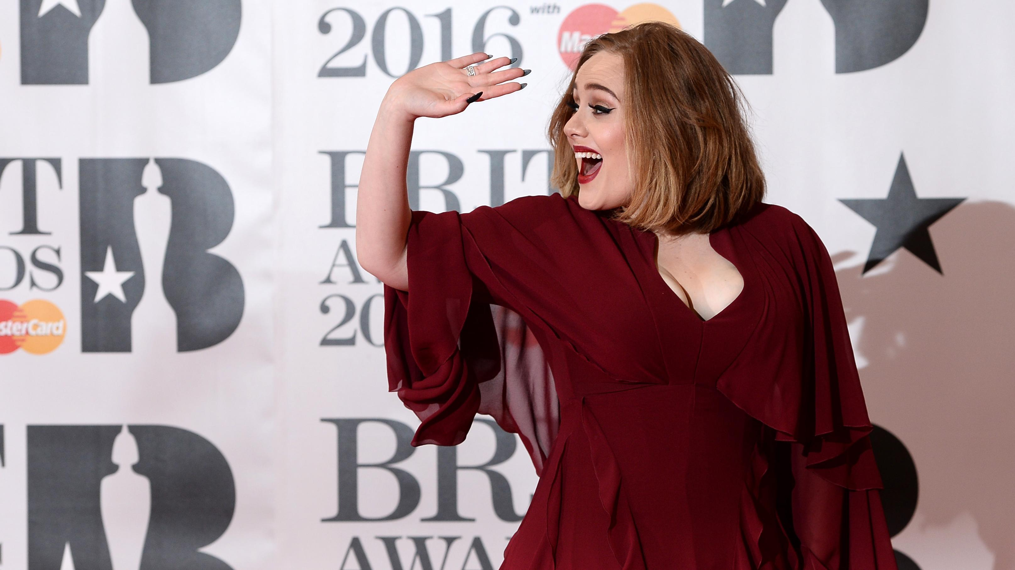 Adele til Brit Awards