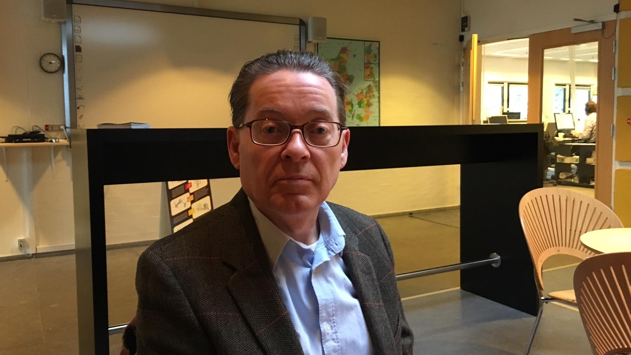 Michael Petersen, professor og ledende overlæge