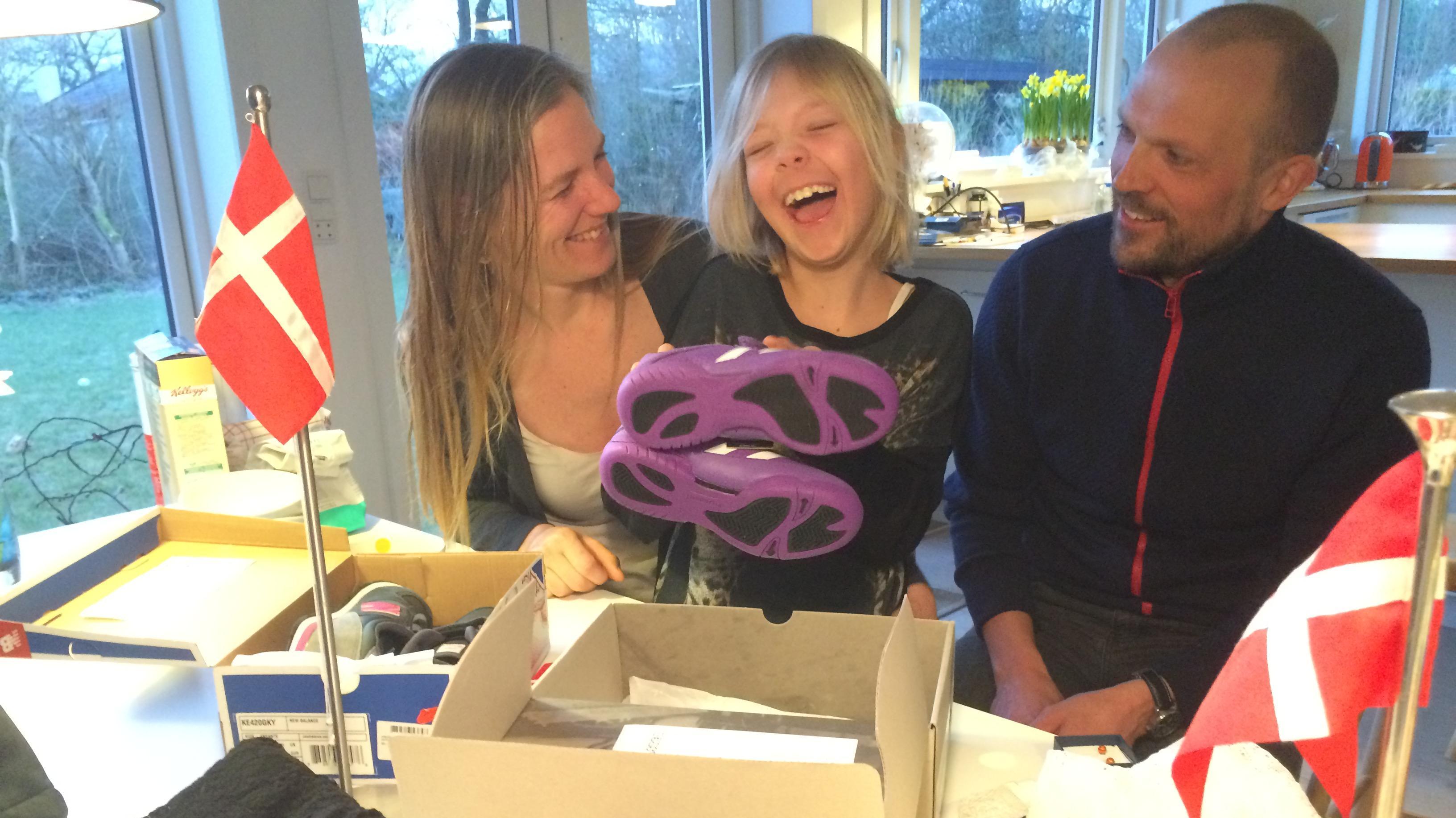 Maja har sin anden fødseldag den 29. februar - og fylder otte!