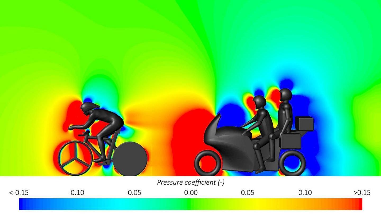 Grafik - cykelrytter og