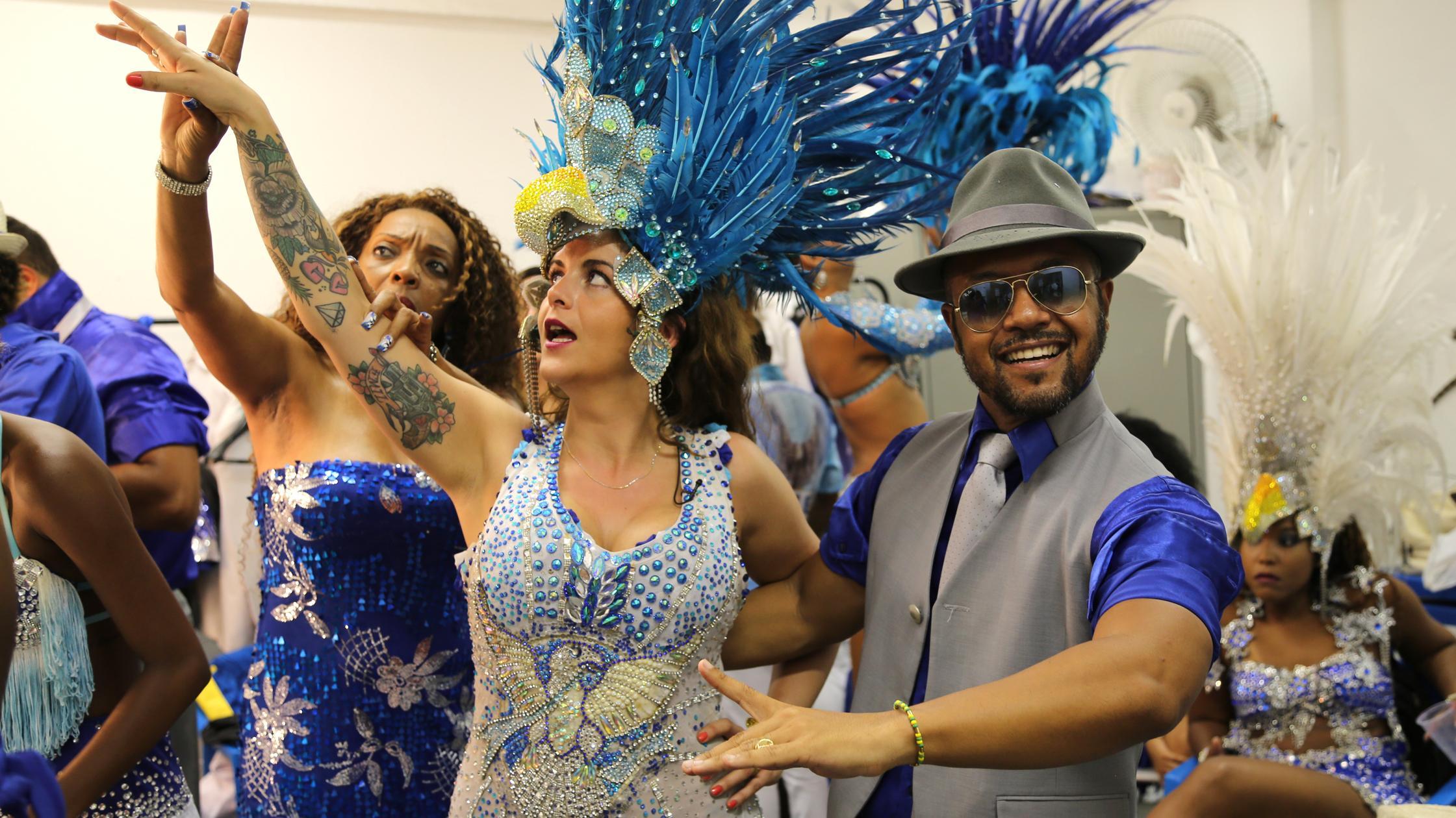 levnu fritid samba giver flot kropsholdning og staerke mavemuskler