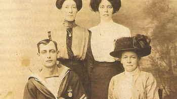 Harry Gasson og familie