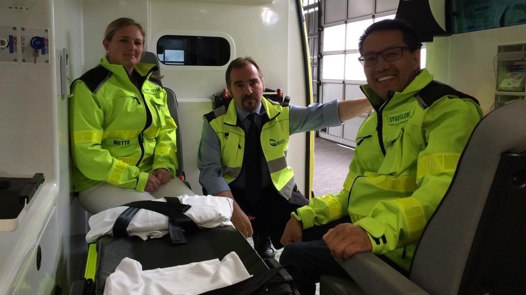 sygeplejersker i ambulancer