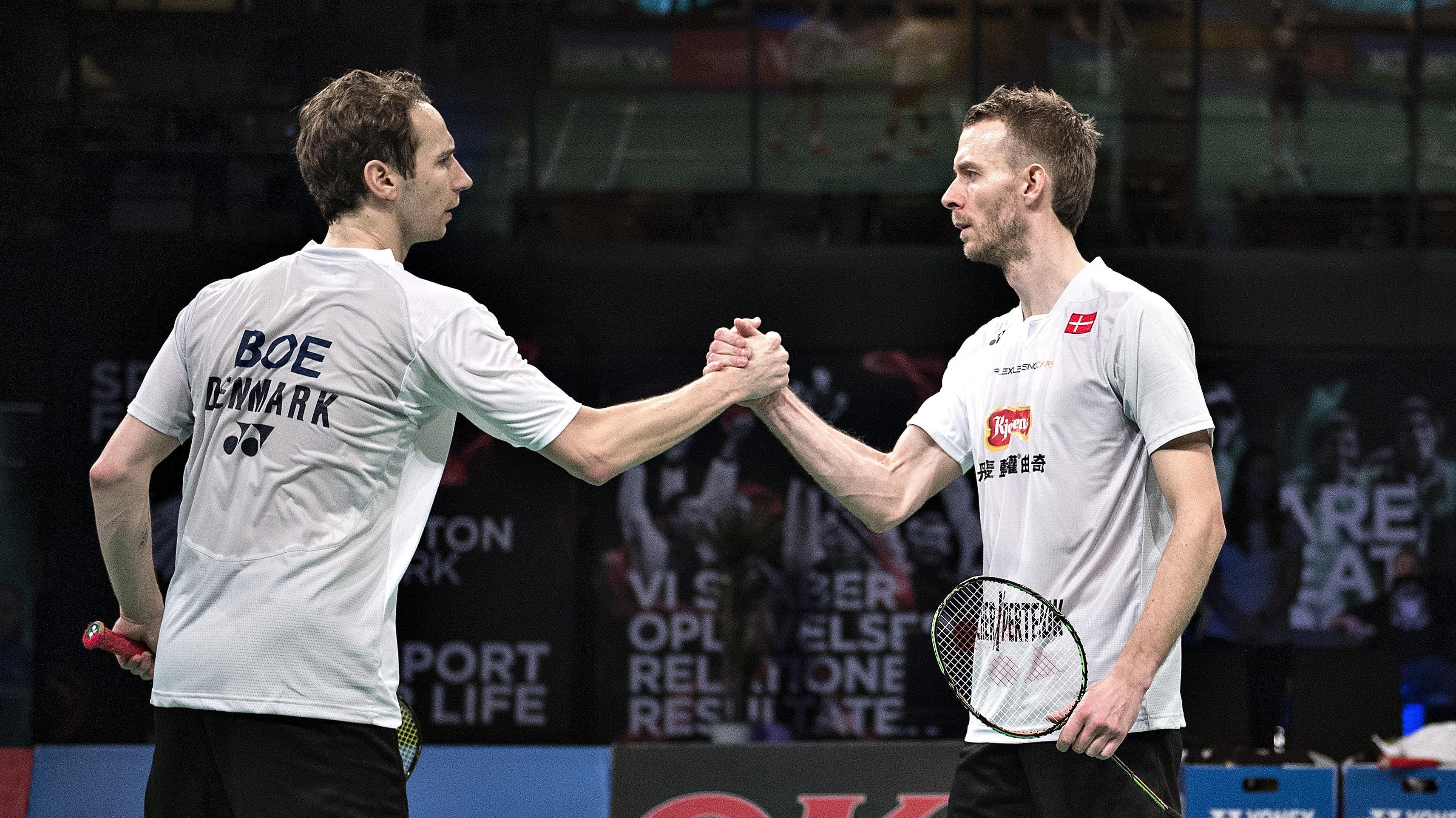 Vildt eback Carsten Mogensen er tilbage med sejr Badminton