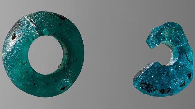 Blå perler fra Voerladegaard