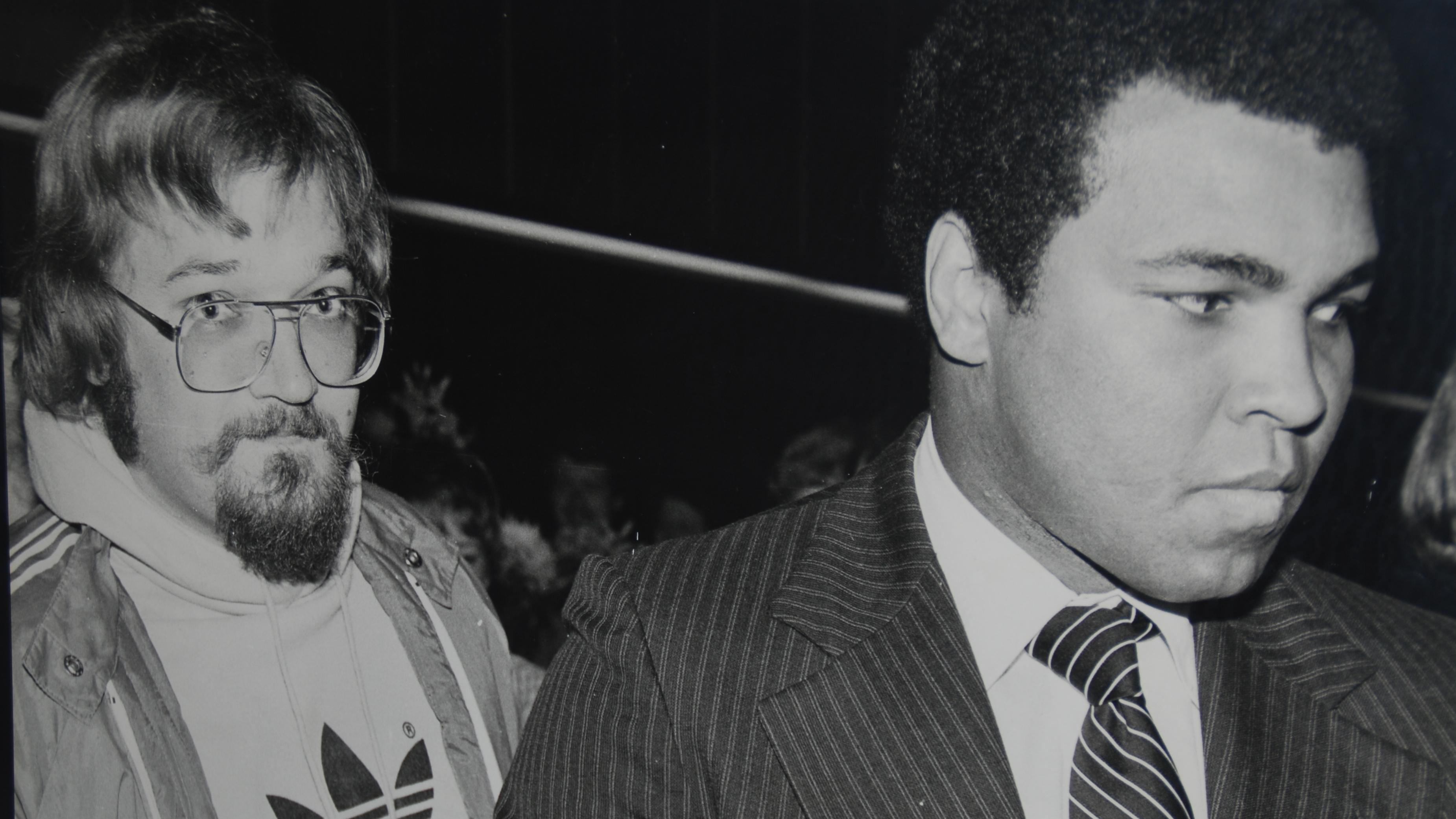 Poul F. Andersen og Muhammad Ali