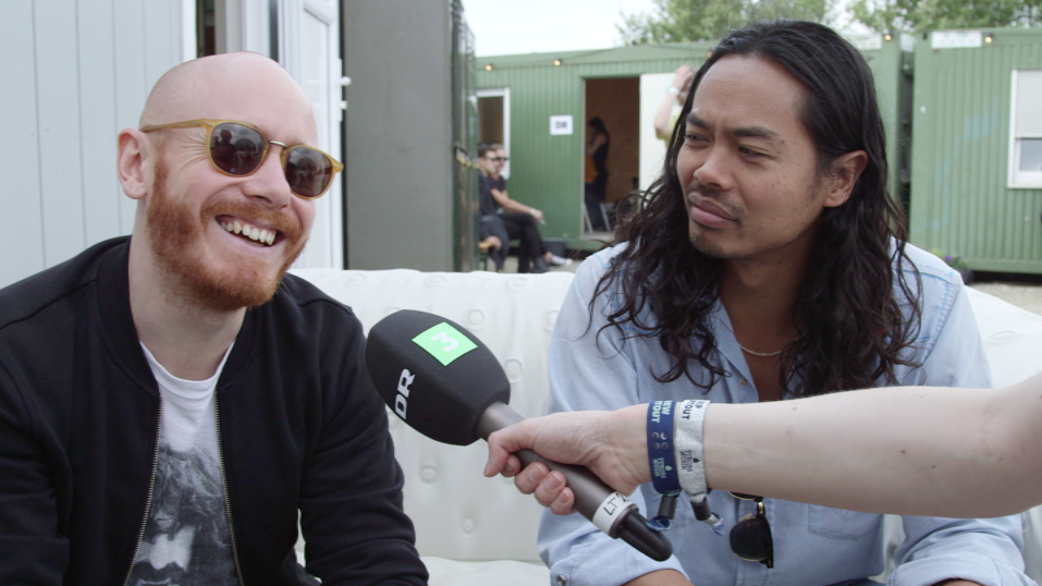 The Temper Trap på Northside