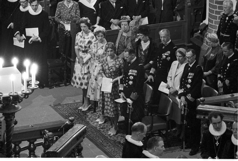 Roskilde Domkring 13. juni 1960