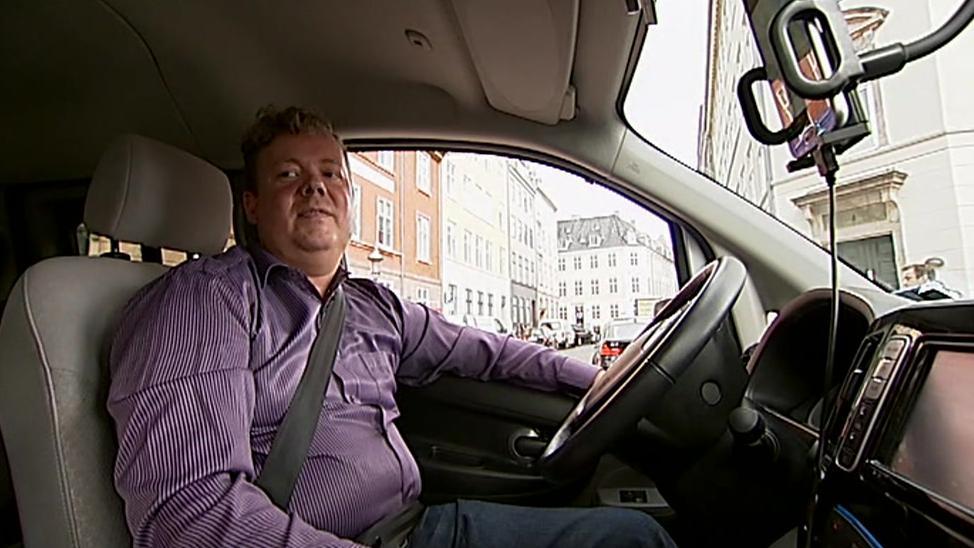 Uber-chauffør Per Jakobsen har netop hørt byrettens afgørelse.