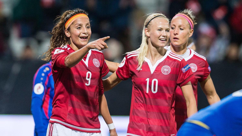 Fodbold: Danmark-Polen (k), Direkte