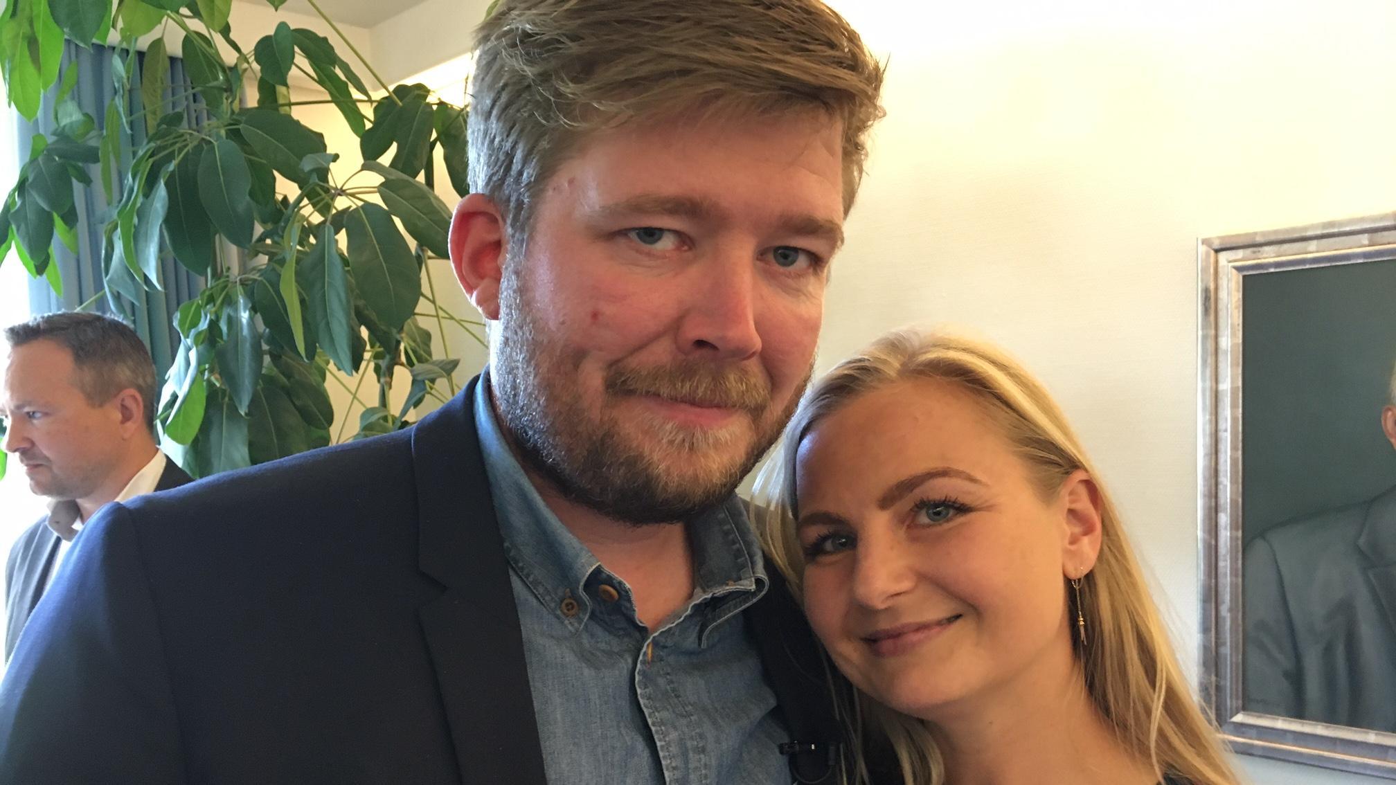 Kenneth og Louise Hansen