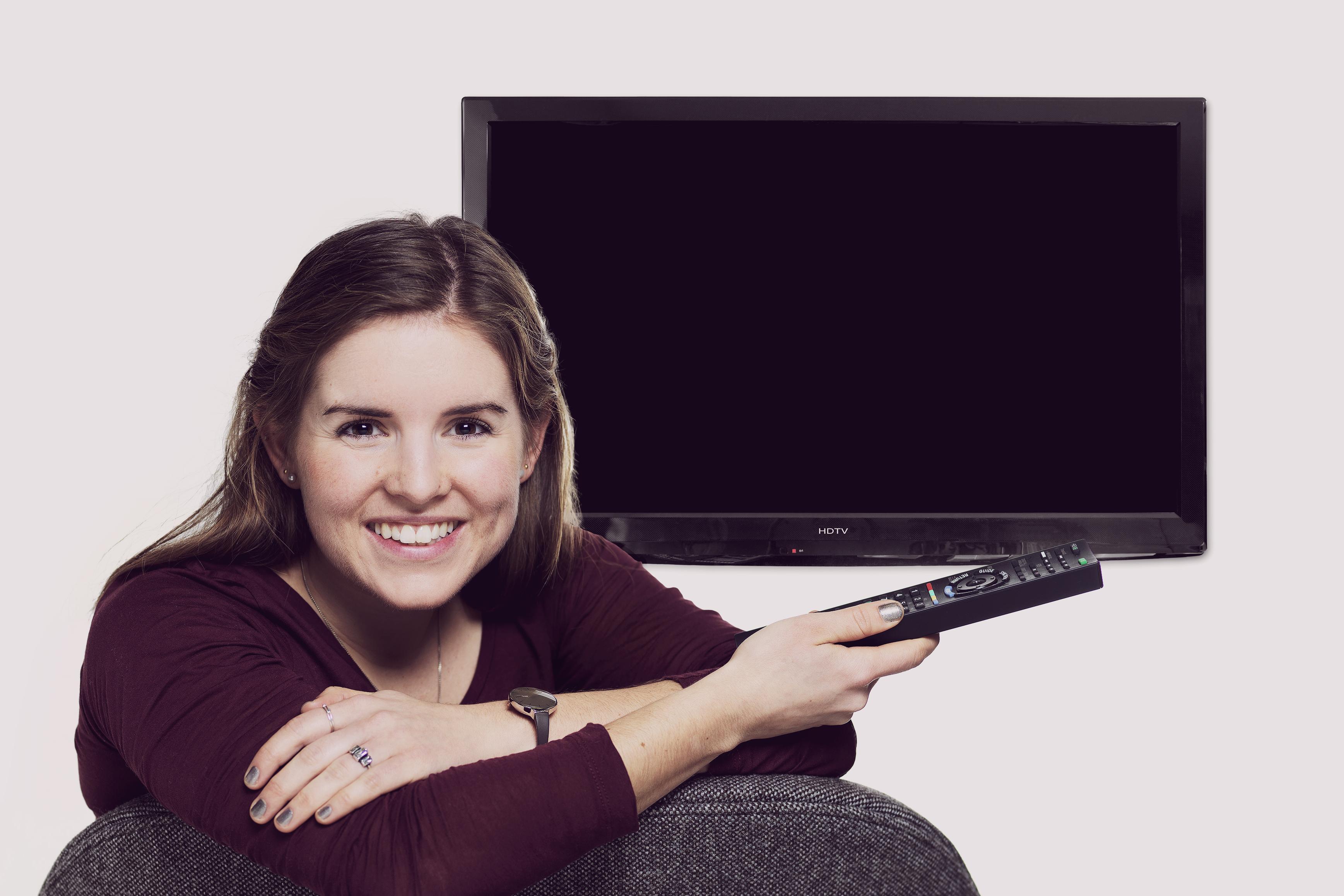 Største fald i tv-seningen nogensinde