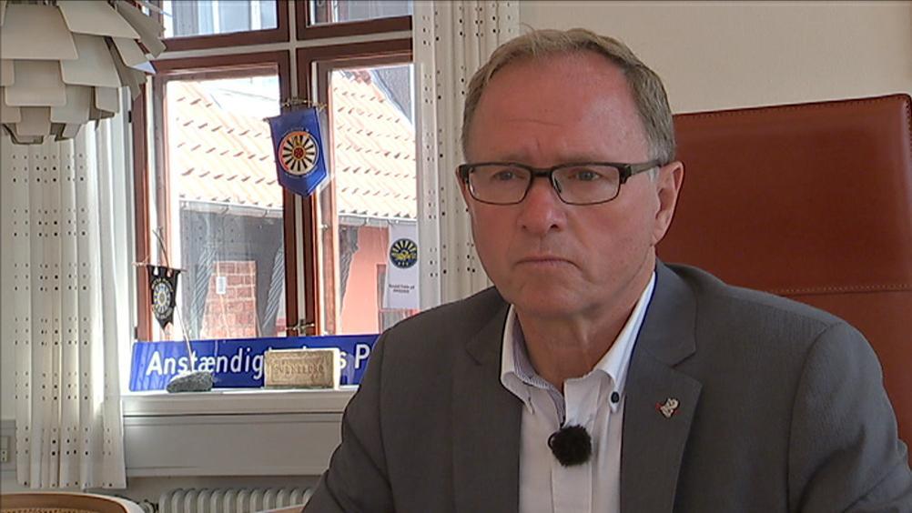 Lars Erik Hornemann (V), borgmester i Svendborg.