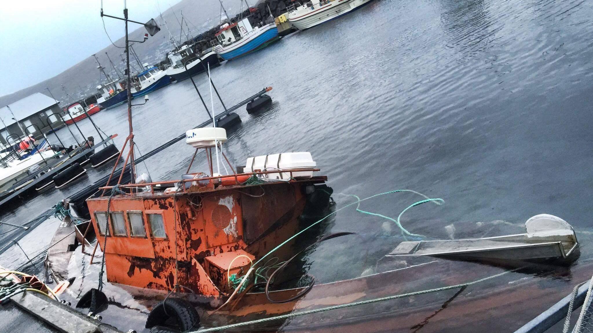 Båd i Strondum