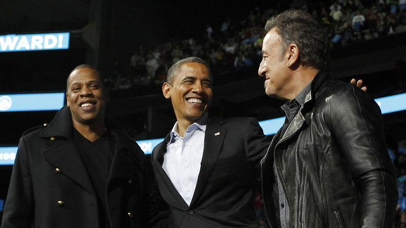 Obama og musikken