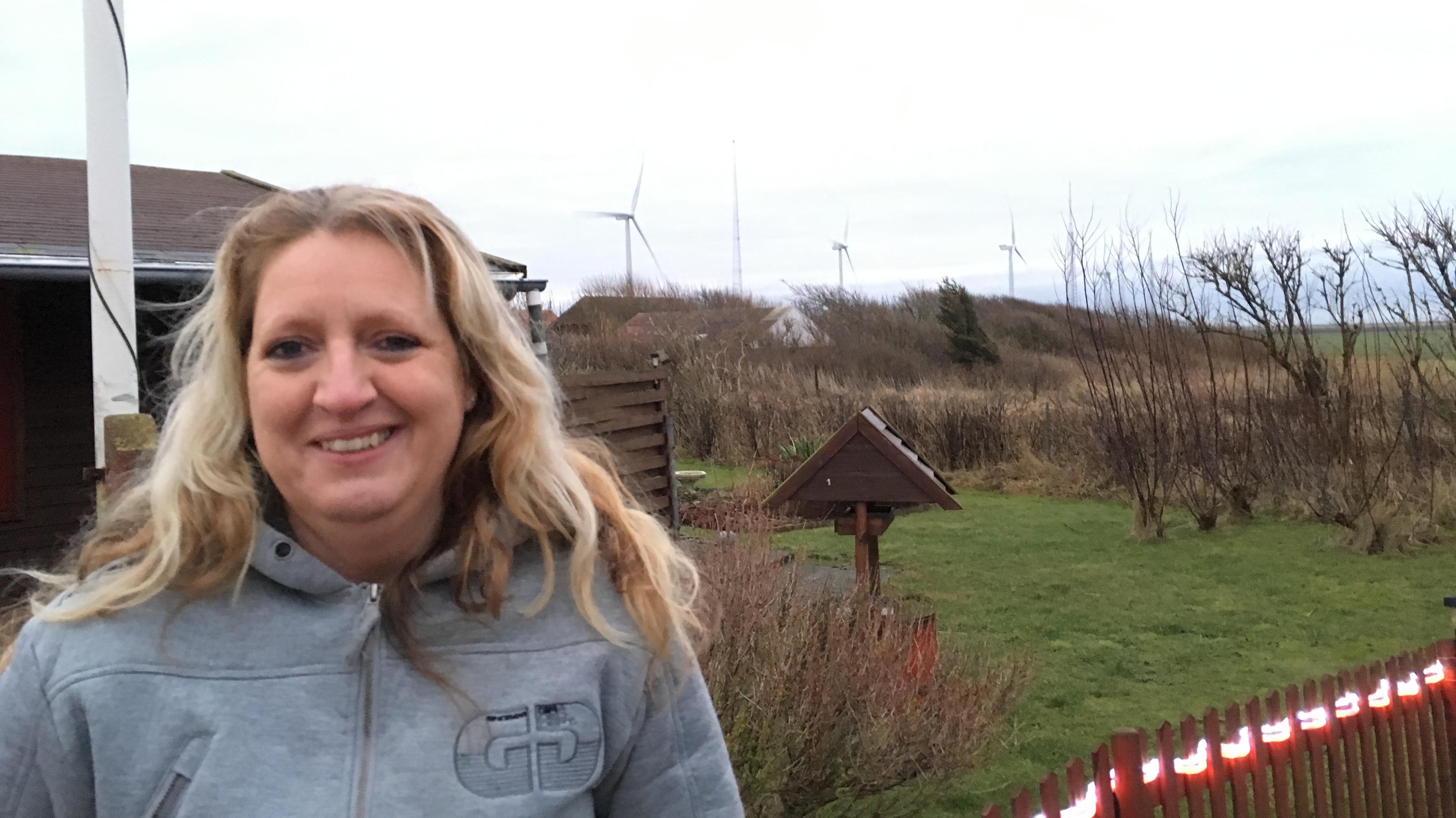 Pia Boje, nabo til testcenter Høvsøre