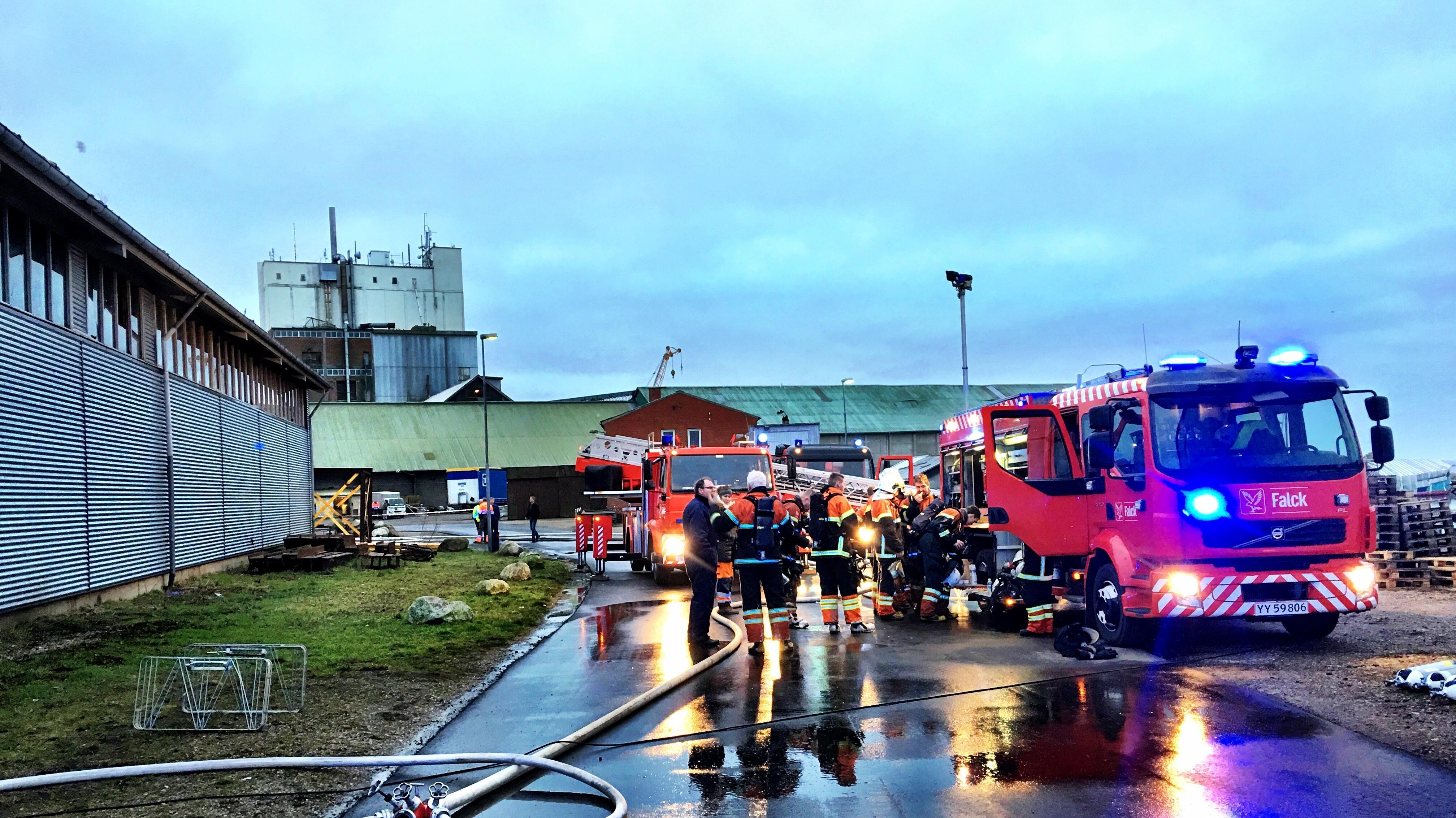 Langeland brand