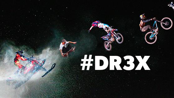 DR3X logo