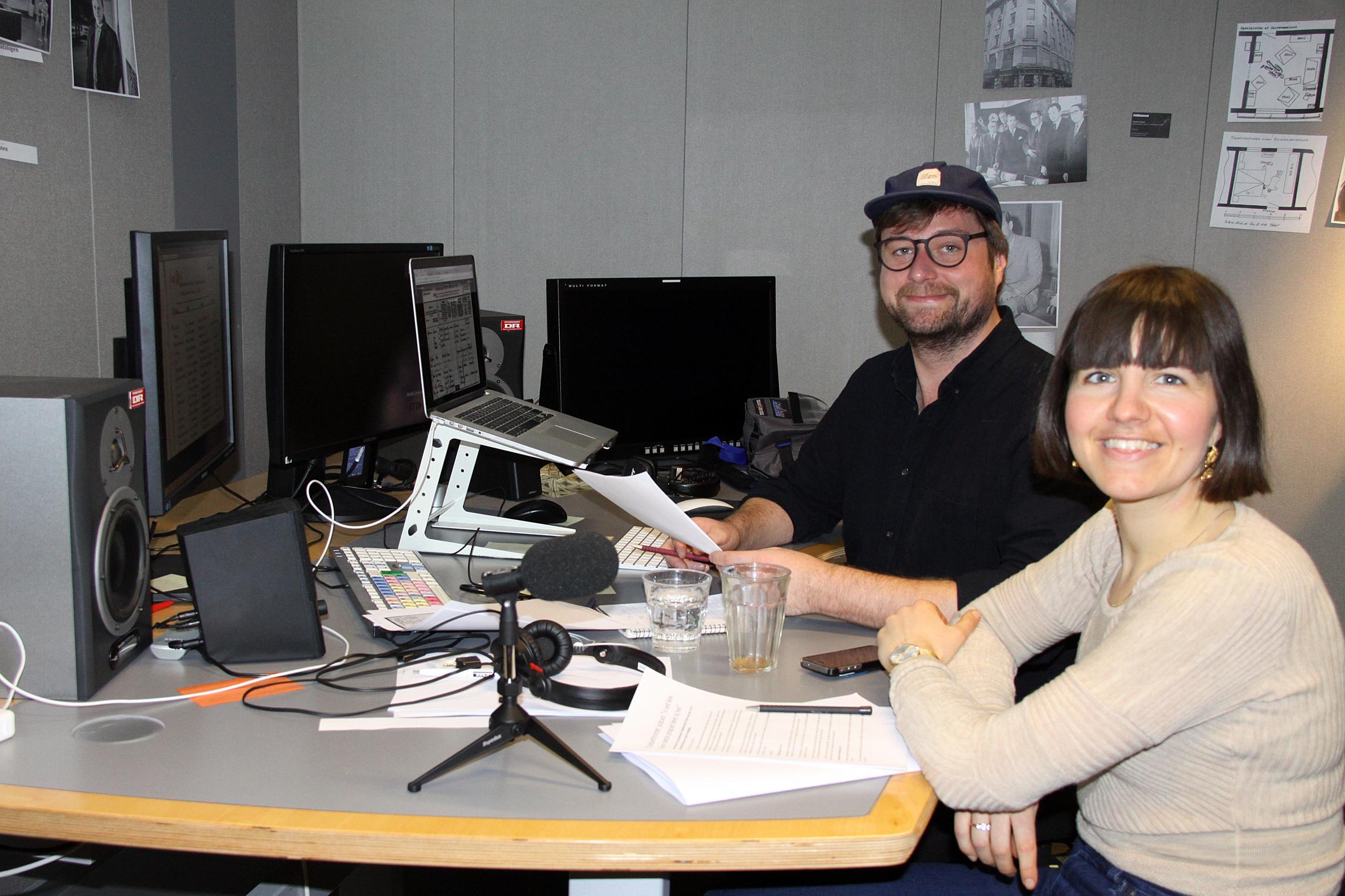 Mads Petter Kühnel og Julie Thing