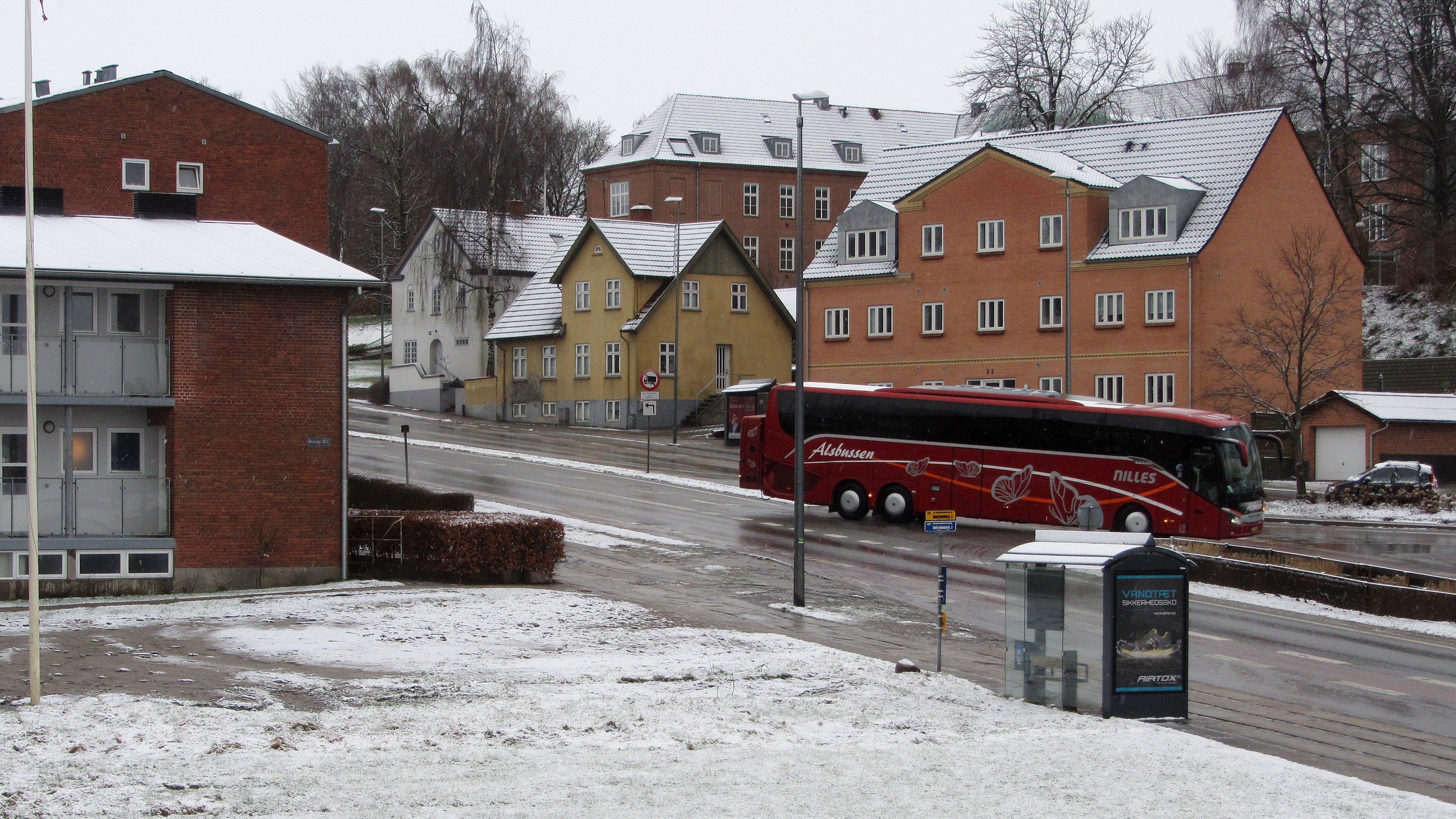 Sne i Hobro