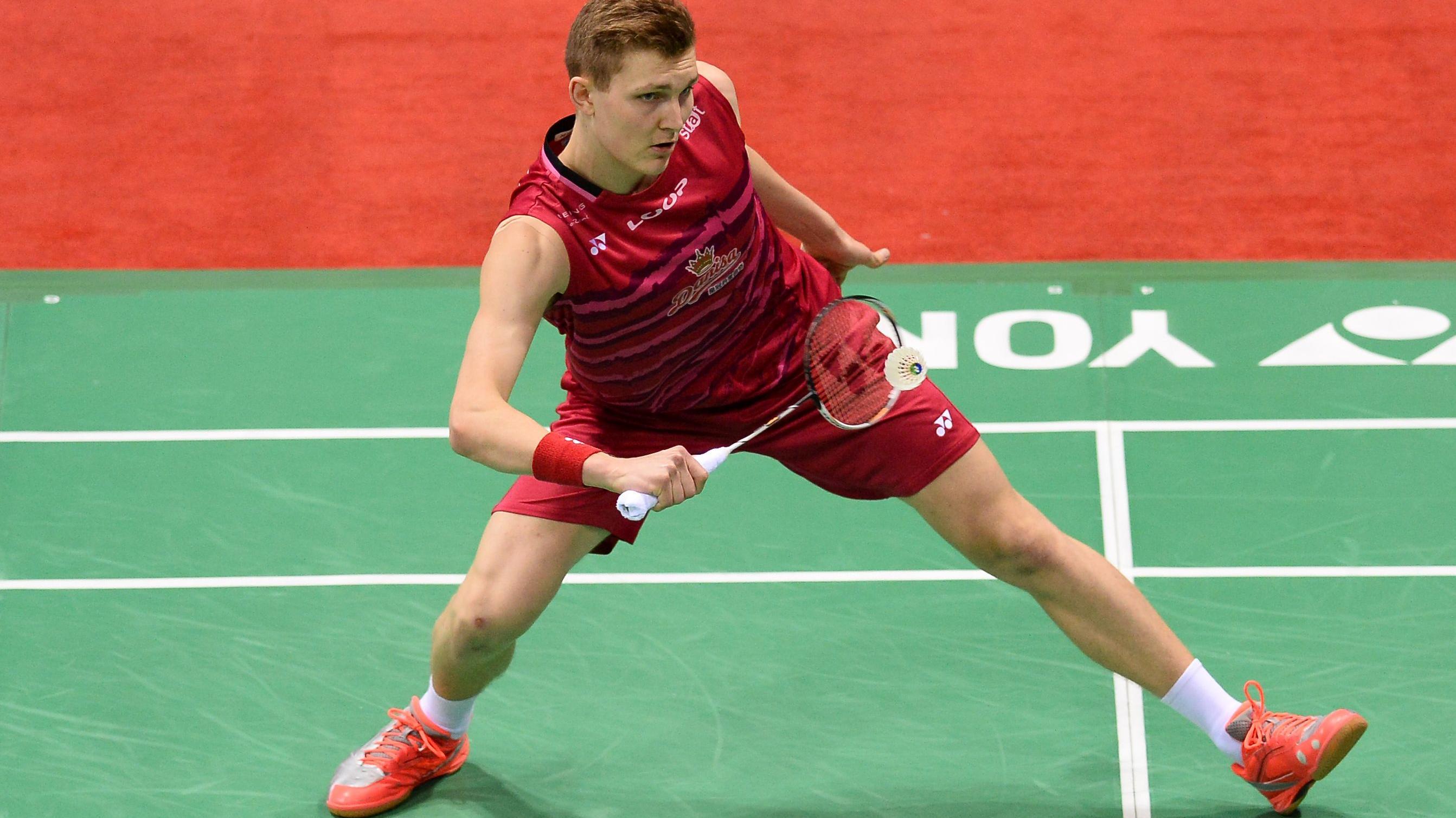 Viktor Axelsen er finaleklar i In n med sikker sejr Badminton