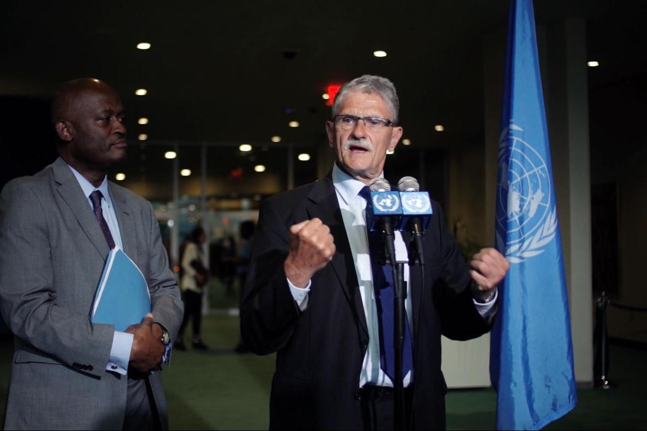 Lykketoft og de lejlighedsvist Forenede Nationer