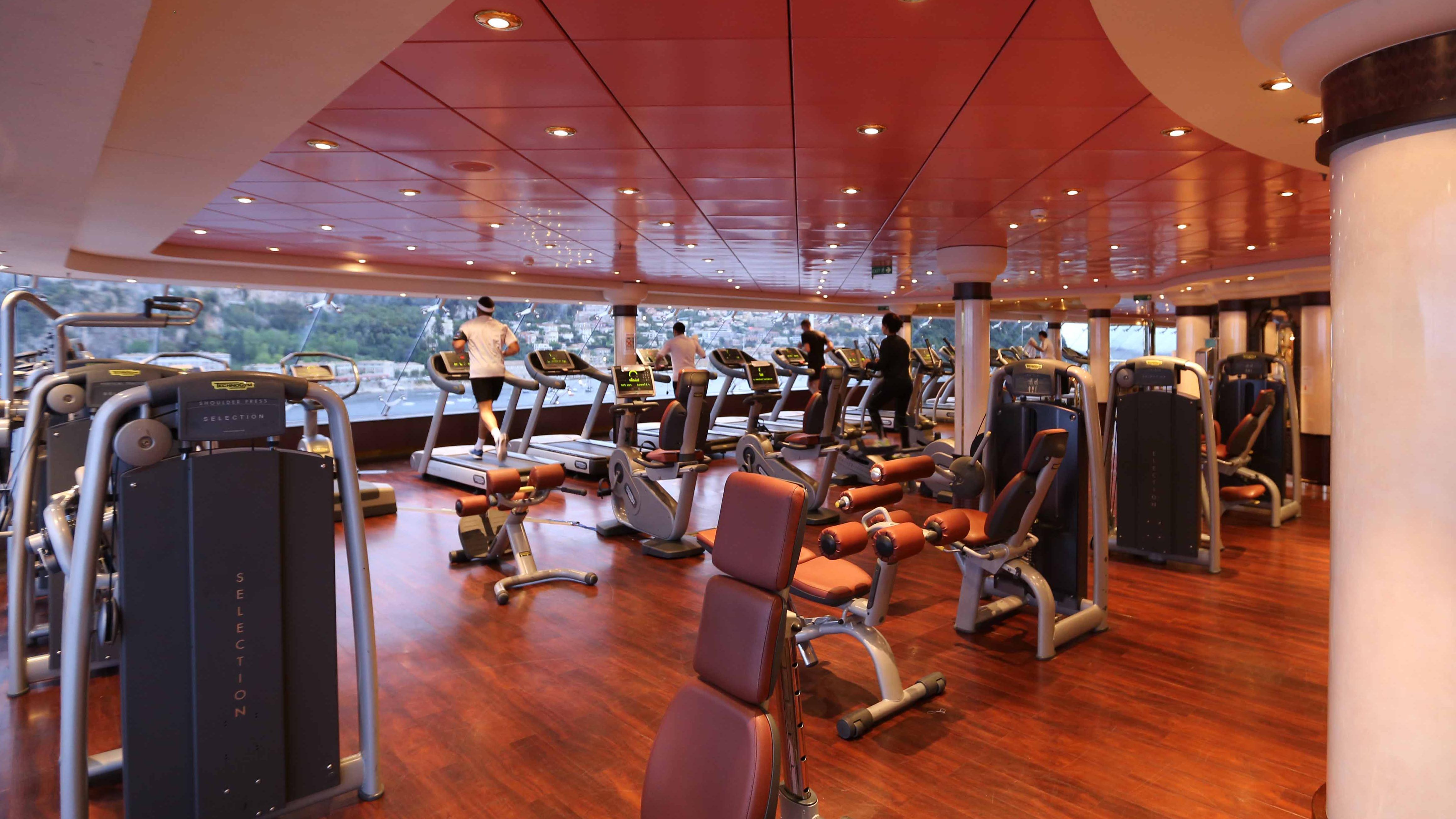 Fitness ombord