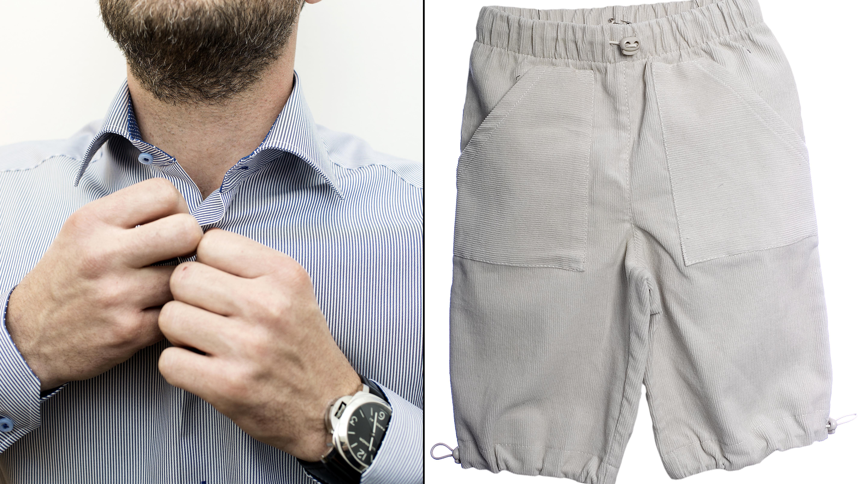 Shorts på arbejdspladsen