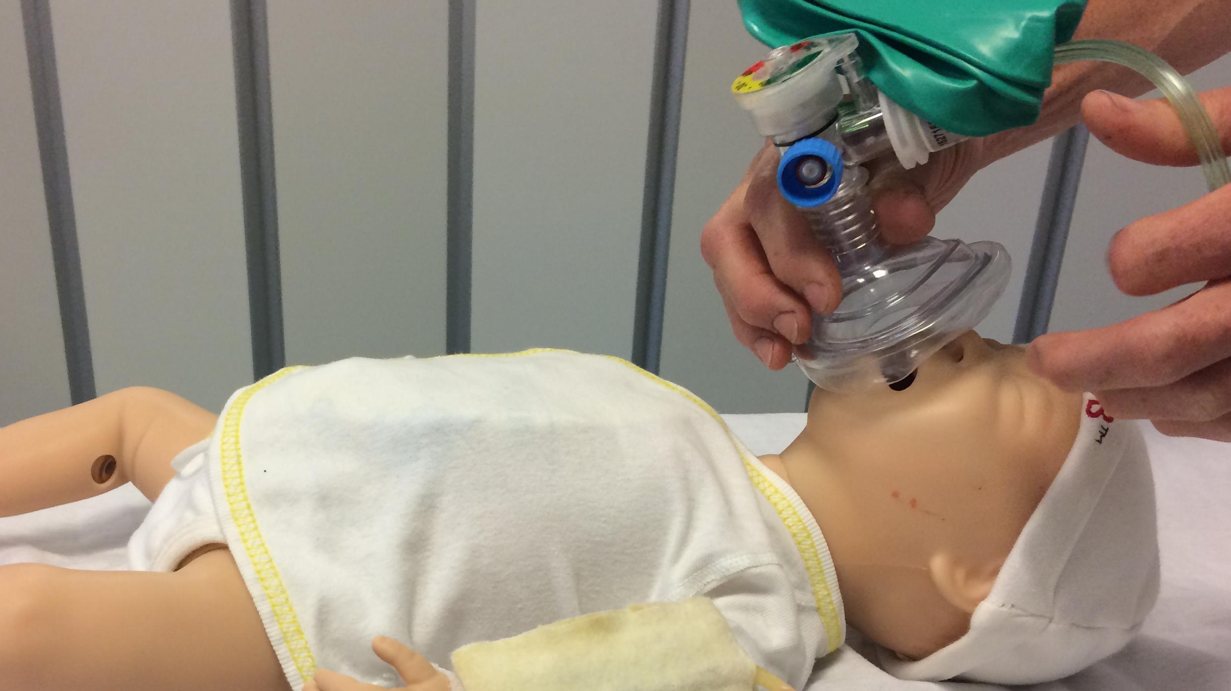 Simulationstræning, dukke, Aalborg Universitetshospital