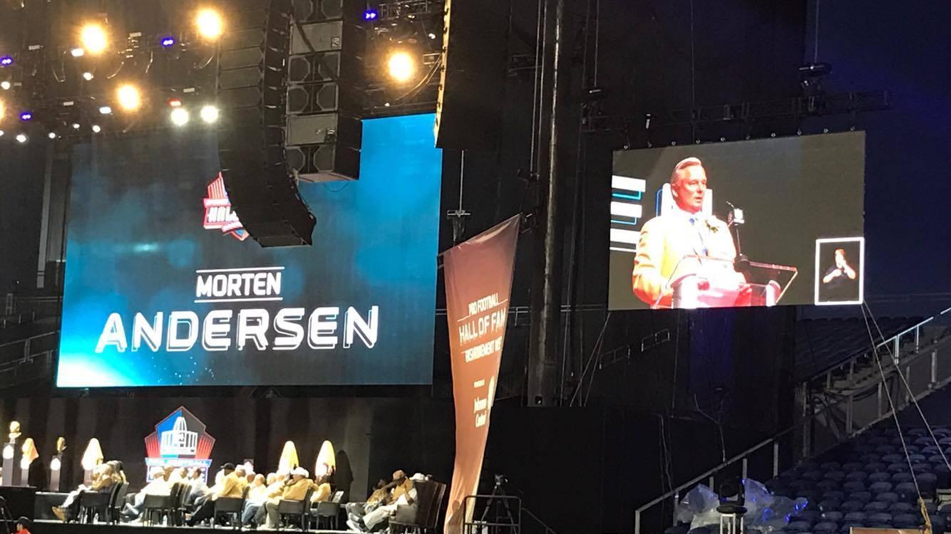 Morten Andersen holder tale