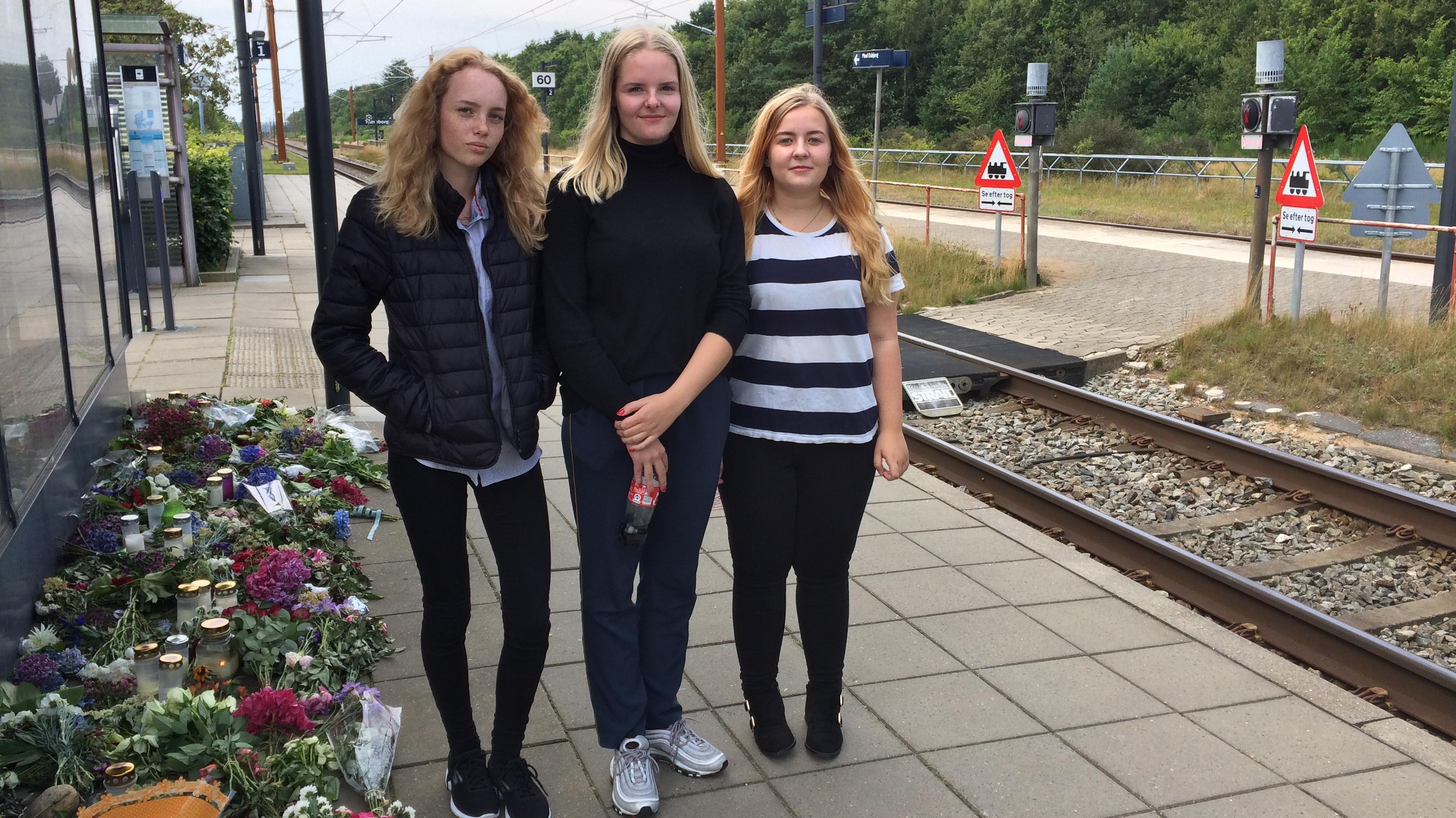 Ulykke på Tjæreborg Station.