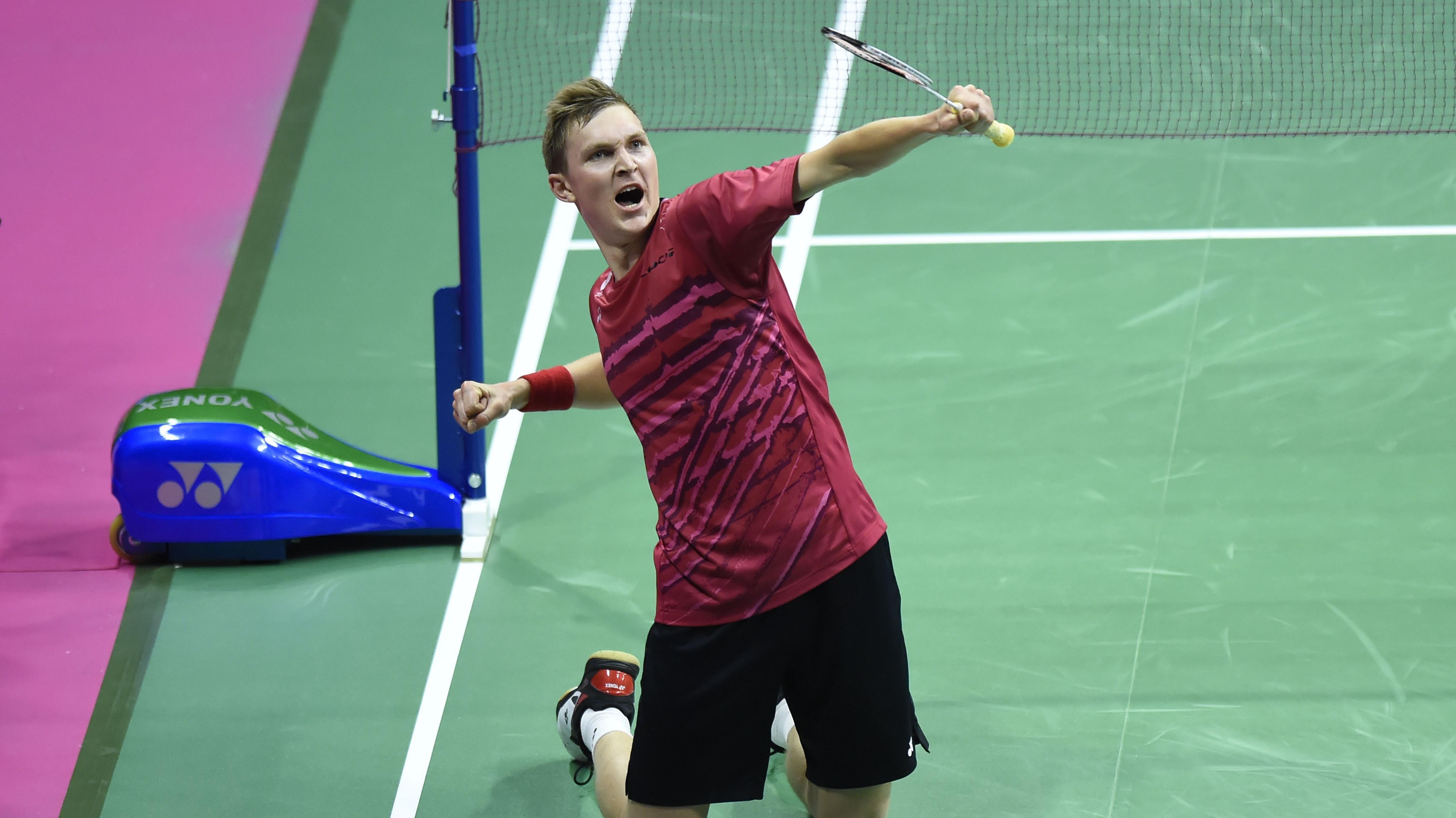 Viktor Axelsen er verdensmester i badminton Badminton