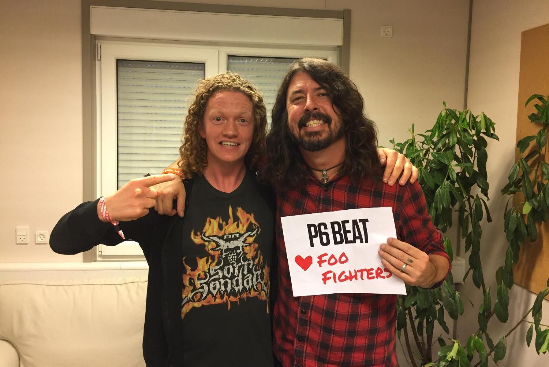 P6 BEAT elsker Foo Fighters