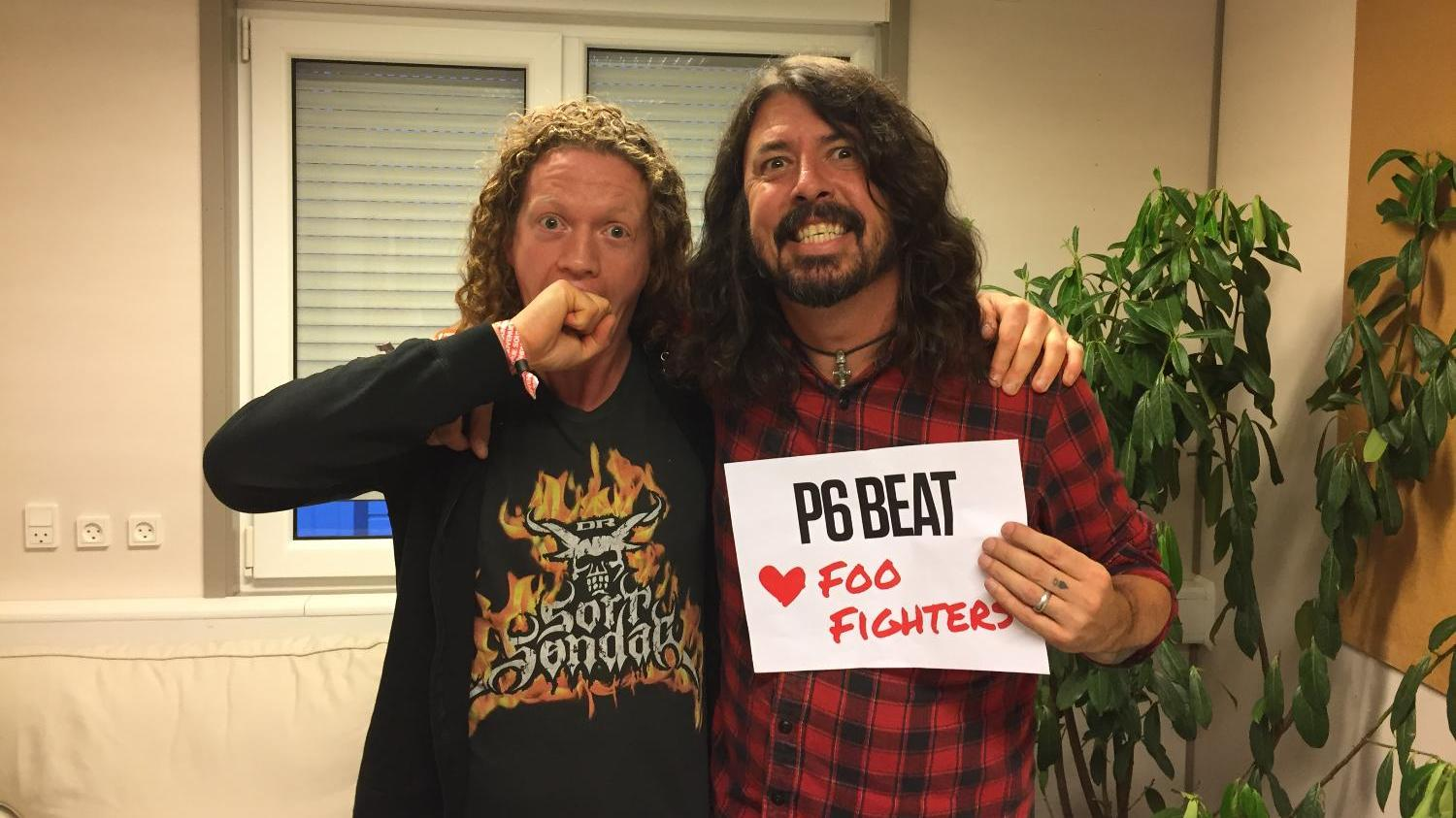 P6 BEAT elsker Foo Fighters