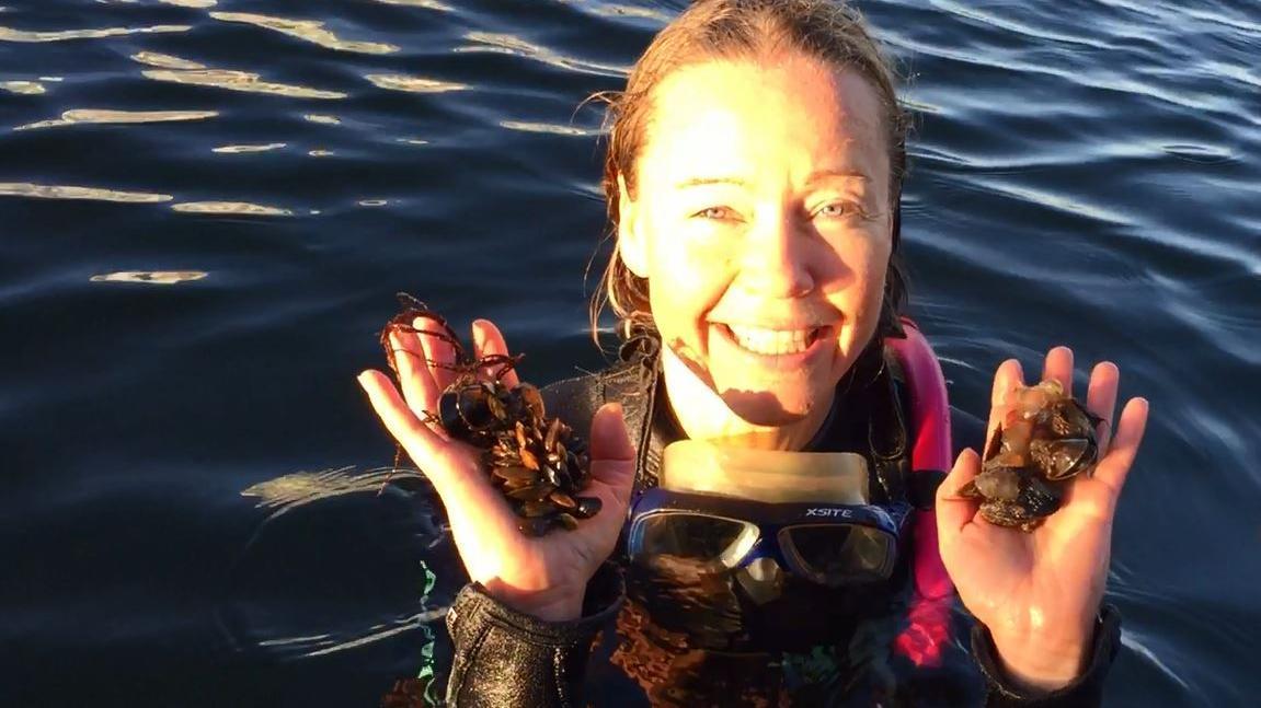 Havbiolog Maren Moltke Lyngsgaard