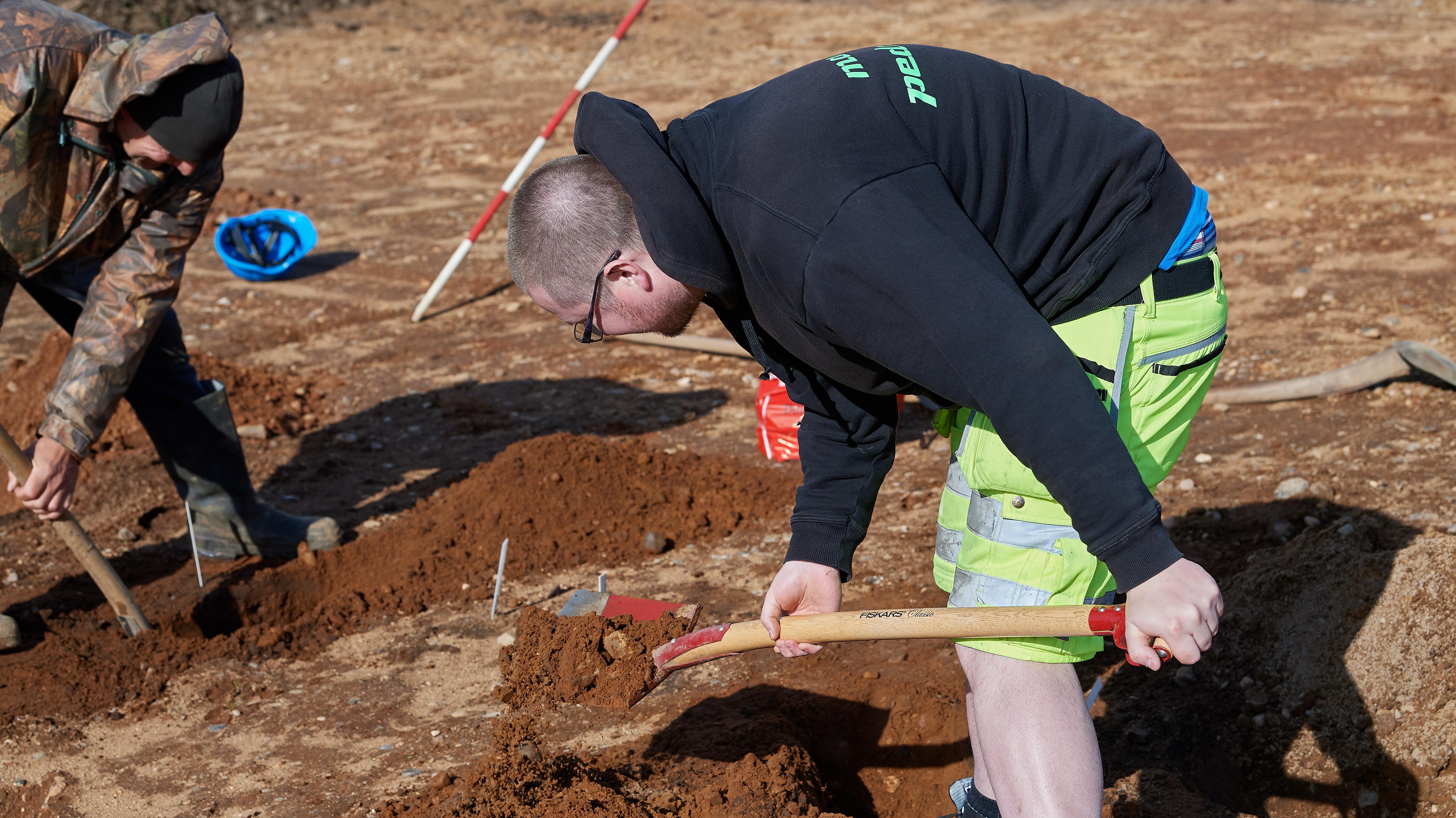 Udgravning Aabenraa 1